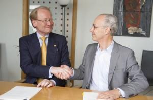 Anders Hamsten KI and Anders Ekblom AstraZeneca
