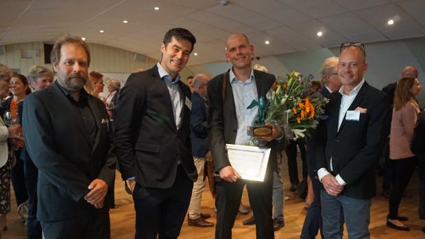 Alligator receives the SwedenBIO Award