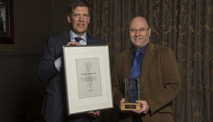 The winner of Recipharm's International Environmental Award