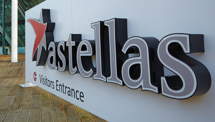Astellas gathers all corporate support functions to Denmark