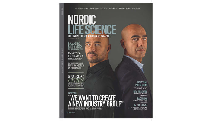 New issue of the Nordic Life Science magazine