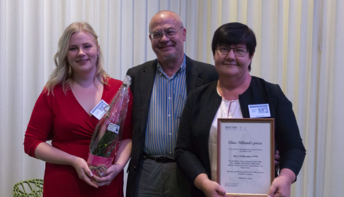 Elias Tillandz Prize awarded to best BioCity Turku publication