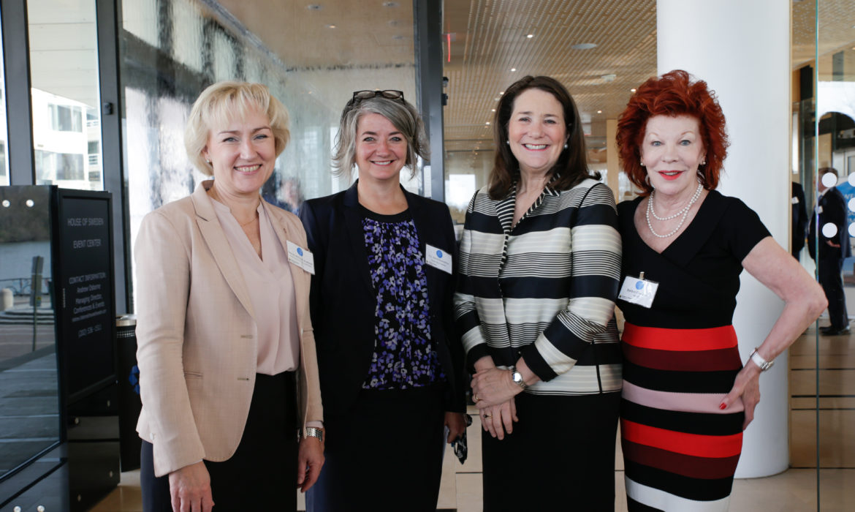 SALSS Goes to Washington Women in power