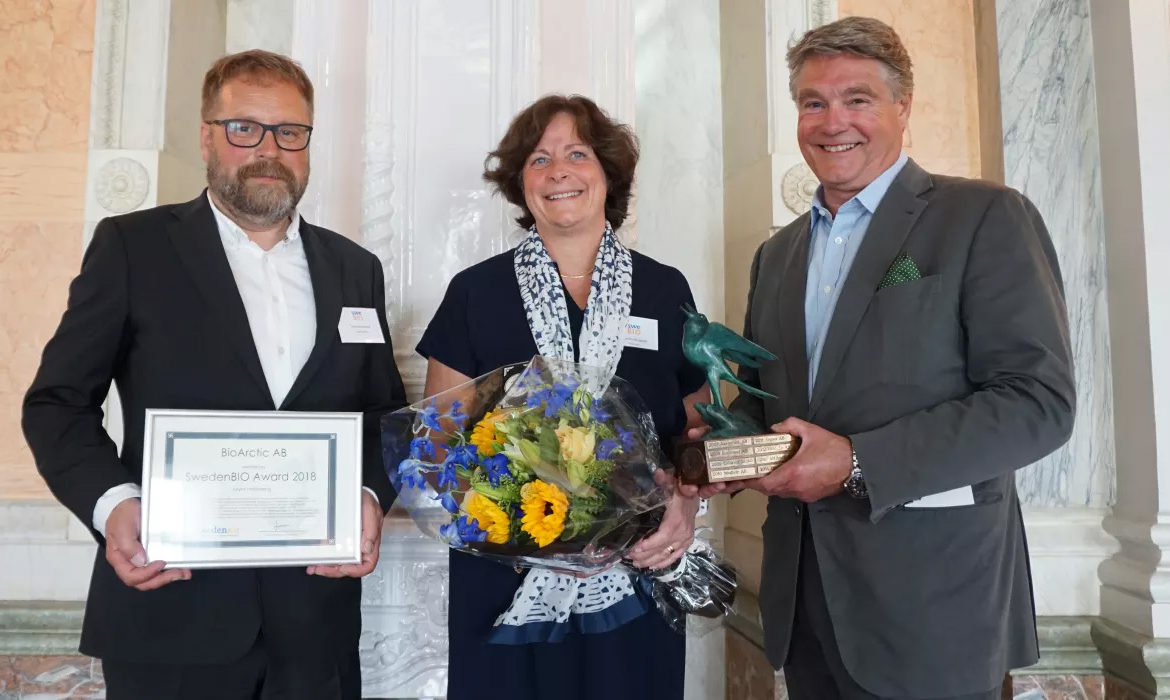 SwedenBIO Award 2018