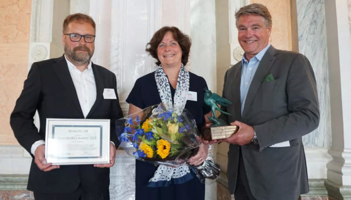 BioArctic is the winner of the SwedenBIO Award 2018