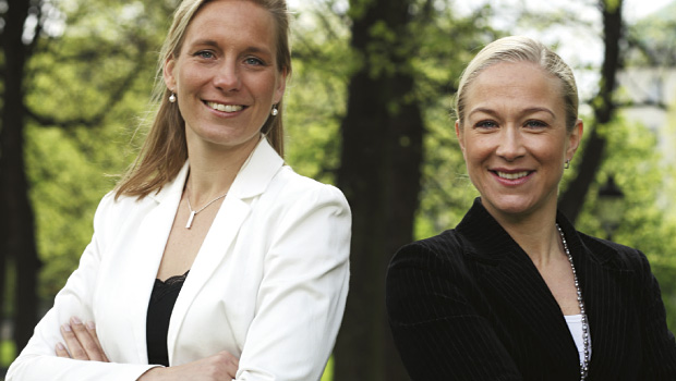 Anna Omstedt Lindgren and Anna Norin
