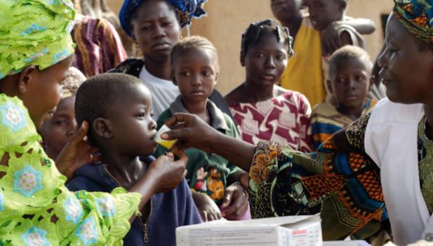 1 million people die every year from malaria photo: läkare utan gränser