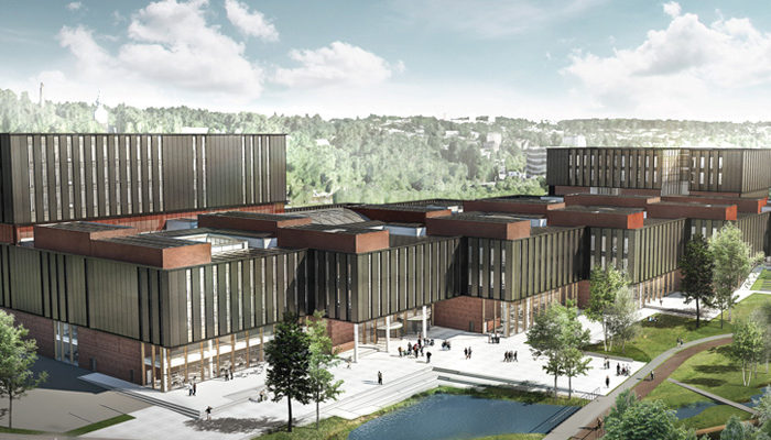 UiO's new life science building, soon a reality